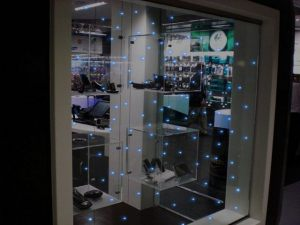 led glass -window